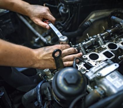 Rozkręcanie silnika